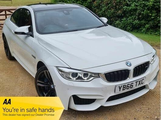 2017 BMW 4 Series 3.0 M4 (431bhp) (s/s) Coupe M DCT (S3 reg)
