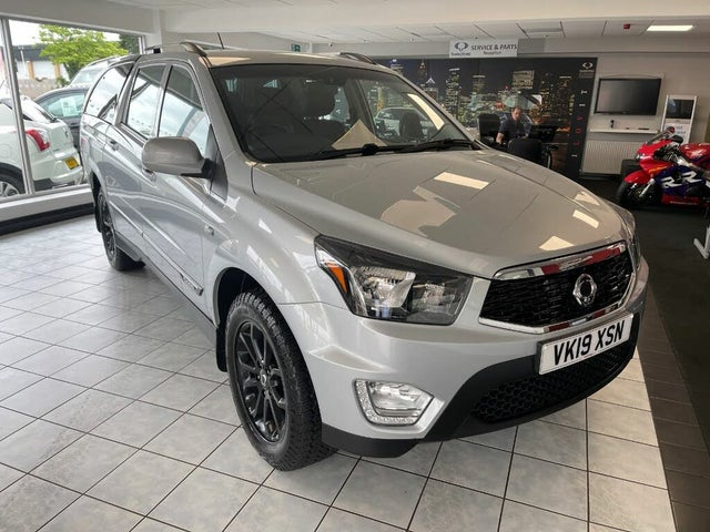 2019 Ssangyong Musso 2.2TD EX (178Ps) auto (AD reg)