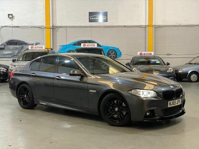 2015 BMW 5 Series 3.0TD 530d M Sport Saloon 4d (65 reg)