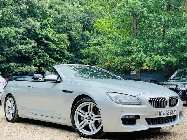 2012 BMW 6 Series 3.0TD 640d M Sport (313bhp) (s/s) Convertible 2d Auto (AL reg)