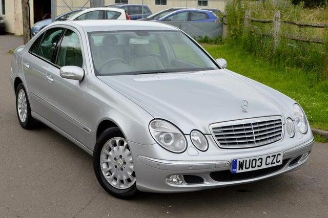 2003 Mercedes-Benz E-Class 2.7TD E270 CDI Elegance Saloon 4d auto (03 reg)