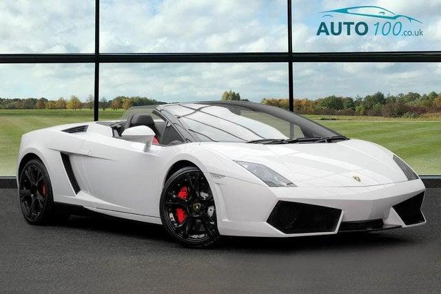 2013 Lamborghini Gallardo 5.2 LP550-2 Roadster (WG reg)