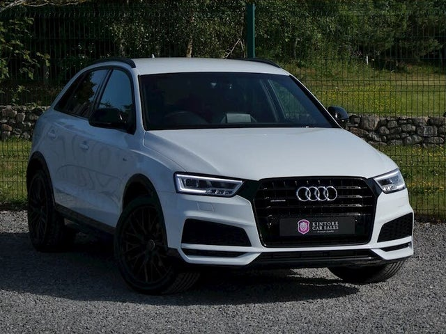 2017 Audi Q3 2.0 TFSI quattro Black Edition (17 reg)