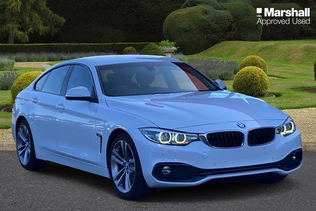 2018 BMW 4 Series 2.0TD 420d Sport (188bhp) (s/s) Gran Coupe 5d Auto (18 reg)