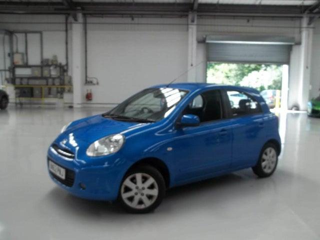 2012 Nissan Micra 1.2 Acenta (79bhp) 5d 1198cc (62 reg)