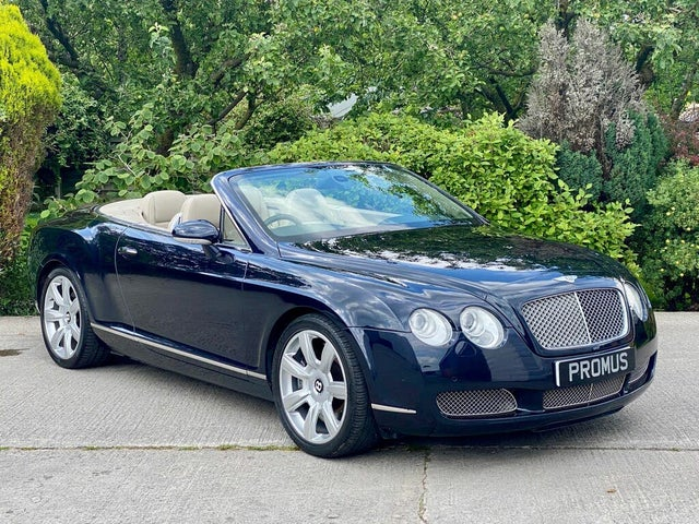 2008 Bentley Continental 6.0 GTC auto (BD reg)