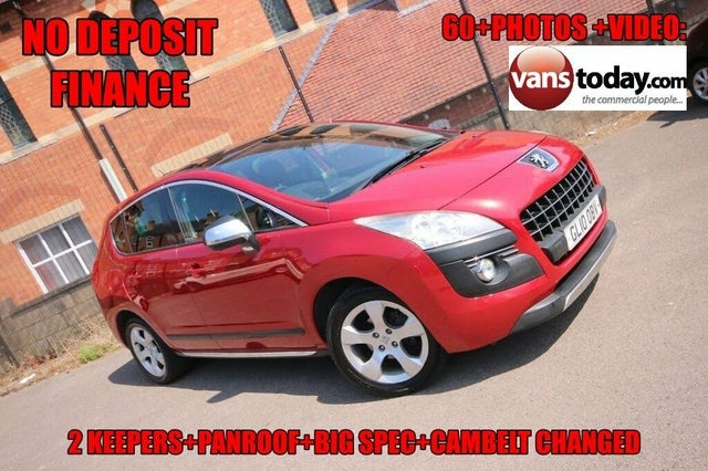 2010 Peugeot 3008 Crossover 1.6TD Exclusive (110bhp) (10 reg)