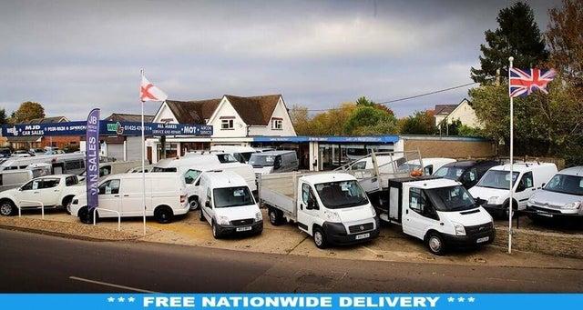 2016 Ford Transit Custom 2.2TDCi 270 L1H1 (100PS) ECOnetic Panel Van (65 reg)