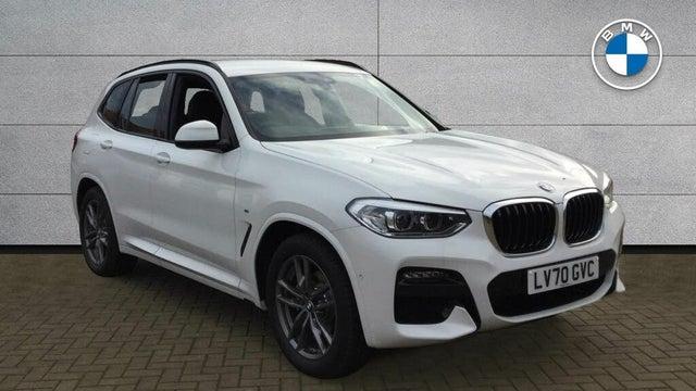 2020 BMW X3 (70 reg)