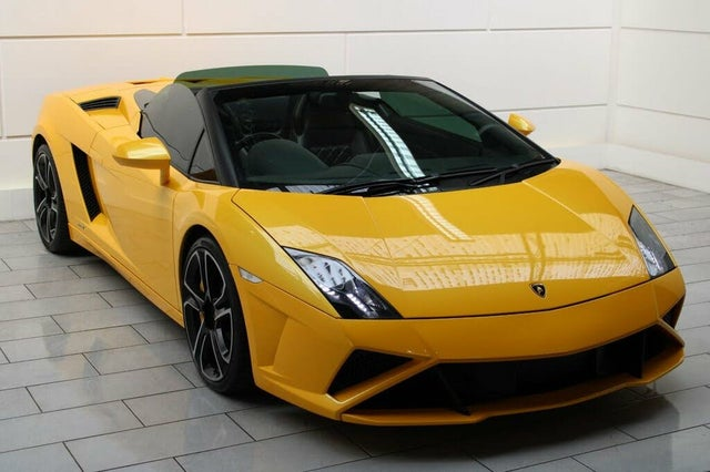 2012 Lamborghini Gallardo 5.2 LP560-4 Spyder (WG reg)