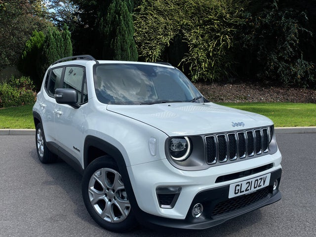 2021 Jeep Renegade 1.3 GSE Limited (21 reg)