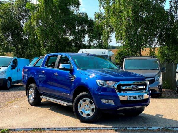 2016 Ford Ranger 3.2TD Limited (200PS)(EU6) 2 Pickup auto (66 reg)