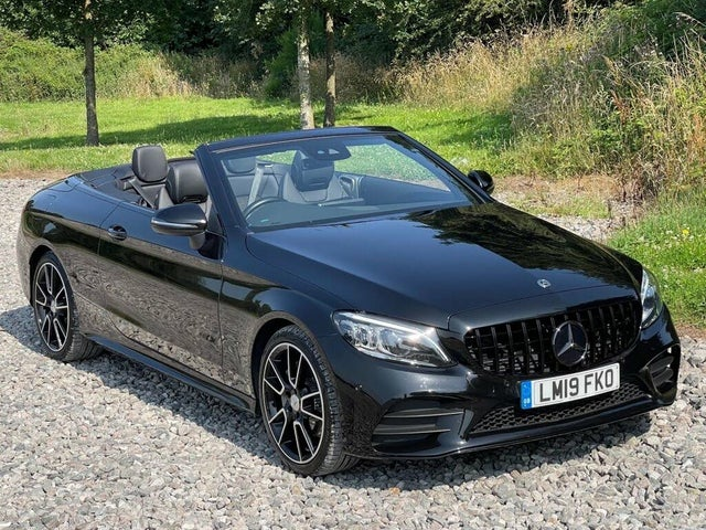 2019 Mercedes-Benz C-Class 1.5 C200 AMG Line (Premium) Cabriolet 2d (19 reg)