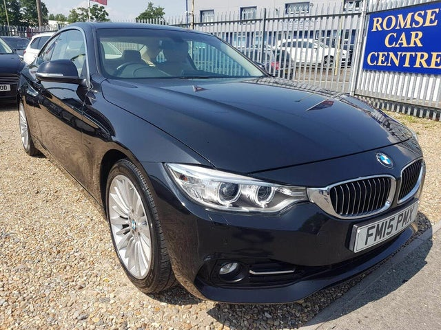 2015 BMW 4 Series 2.0 420i Luxury Coupe 2d Auto (15 reg)