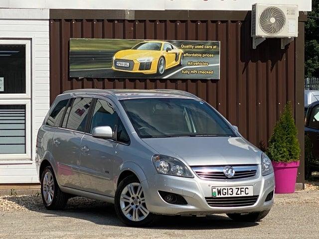 2013 Vauxhall Zafira 1.7TD Design NAV (110ps) (13 reg)