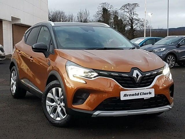 2021 Renault Captur 1.0 TCe Iconic (100bhp) (70 reg)