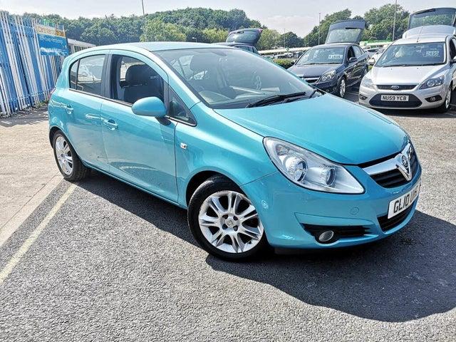 2010 Vauxhall Corsa 1.2 SE (85PS) 5d (10 reg)