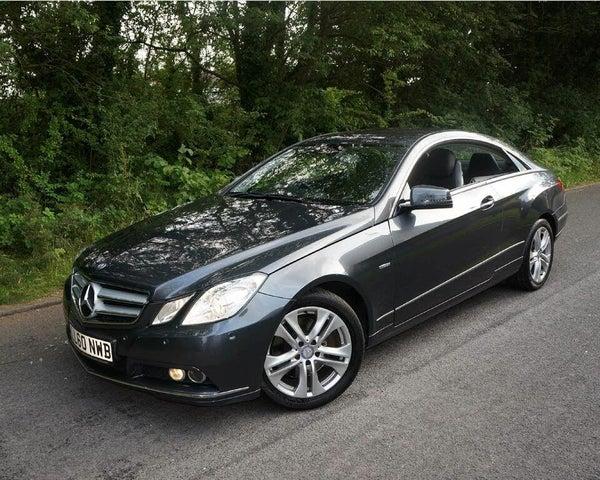 2011 Mercedes-Benz E-Class 2.1TD E250 CDI SE 2.1CDI Blue F Coupe 2d auto (60 reg)