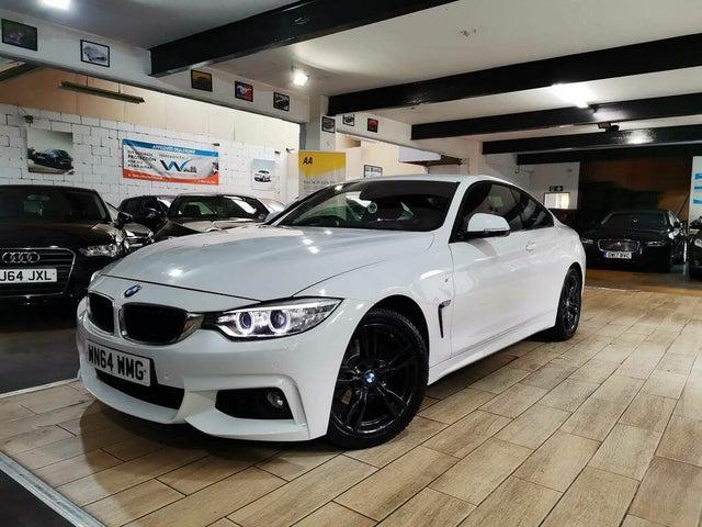 2014 BMW 4 Series 2.0TD 420d M Sport Coupe 2d Auto (64 reg)