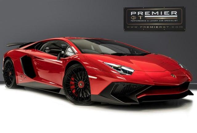 2016 Lamborghini Aventador 6.5 LP 750-4 Superveloce Coupe (WE reg)