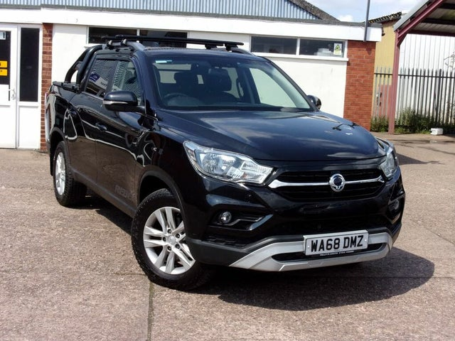2018 Ssangyong Musso 2.2TD Rebel auto (AY reg)
