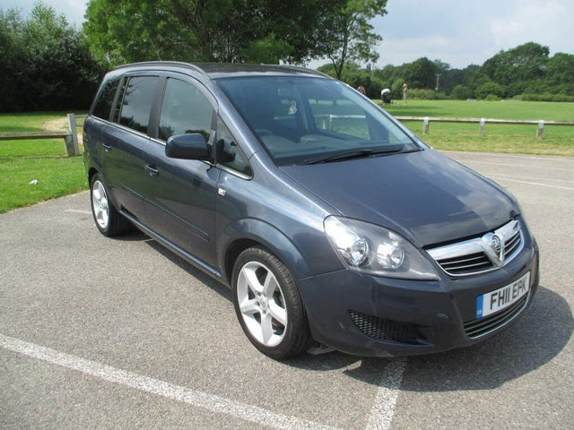 2011 Vauxhall Zafira 1.7TD Exclusiv 1.7CDTi 16v ecoFLEX (110ps) (11 reg)