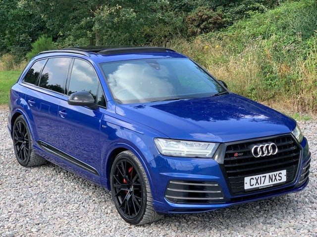 2017 Audi SQ7 4.0BiTDI V8 (17 reg)