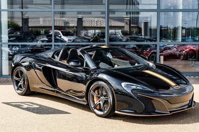 2015 McLaren 650S 3.8 Spider (M1 reg)