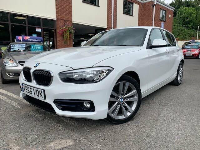 2015 BMW 1 Series 1.5 118i Sport 5d (A1 reg)