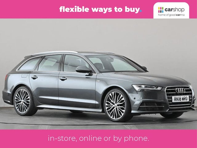 2018 Audi A6 Avant 3.0BiTDI quattro S Line (UZ reg)