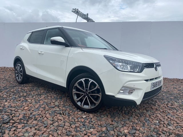 2018 Ssangyong Tivoli 1.6TD ELX Red Auto (T3 reg)