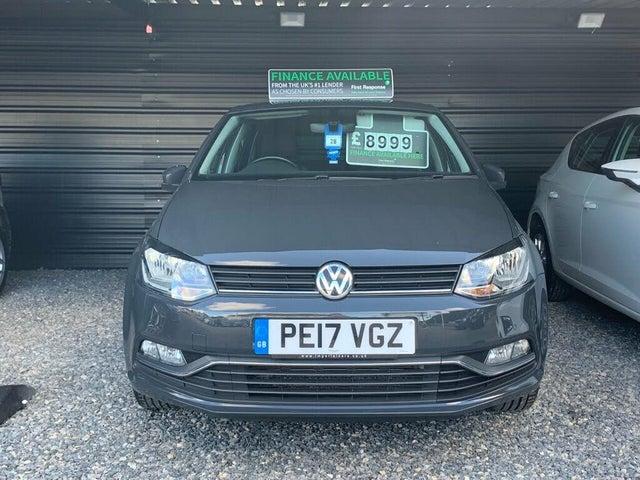 2017 Volkswagen Polo 1.4TDI Match Edition (BMT)(s/s) 5d (17 reg)