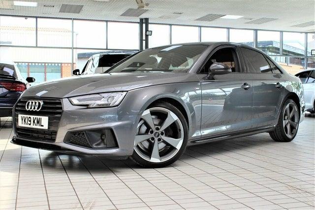 2019 Audi A4 2.0 40 TFSI Black Edition (19 reg)
