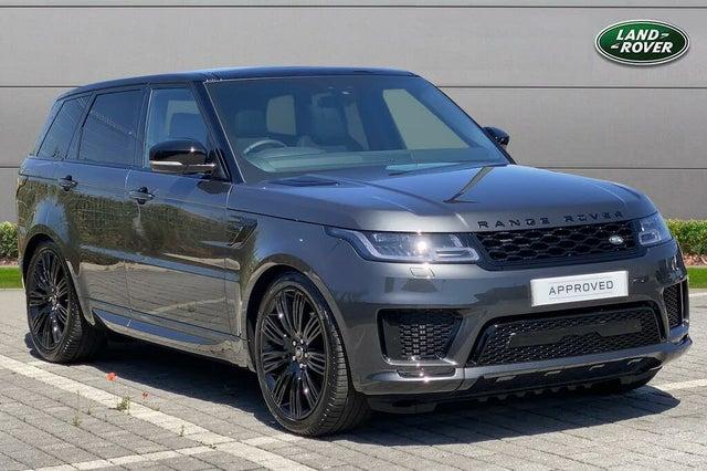 2021 Land Rover Range Rover Sport 3.0 D300 HSE Dynamick Black Dynamic (LW reg)