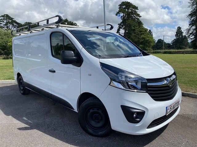 2018 Vauxhall Vivaro 1.6CDTi Sportive 2900 L2H1 (125PS)(EU6) BiTurbo (s/s) ecoTEC Panel (18 reg)