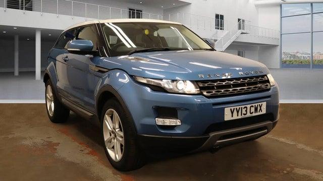 2012 Land Rover Range Rover Evoque 2.2TD Pure TECH 2.2SD4 Coupe 3d (13 reg)