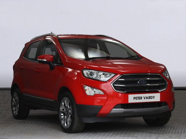 2018 Ford EcoSport 1.0T Titanium (125ps) (s/s) (01 reg)