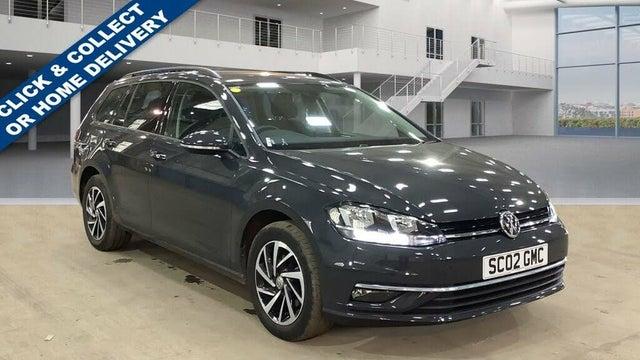 2019 Volkswagen Golf 1.6TDI Match Estate 5d DSG (02 reg)