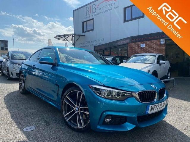 2017 BMW 4 Series 2.0TD 420d M Sport Coupe 2d Auto (A4 reg)