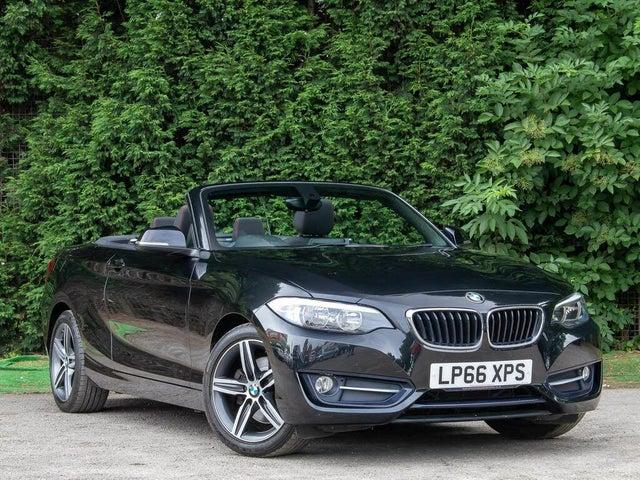 2017 BMW 2 Series 2.0 220i Sport (184bhp) Convertible 2d Auto (66 reg)