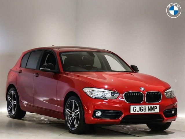2018 BMW 1 Series (68 reg)