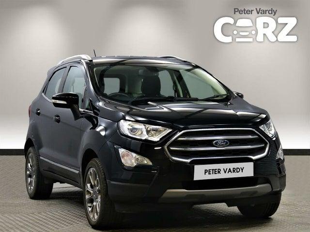 2018 Ford EcoSport 1.0T Titanium (125ps) (01 reg)