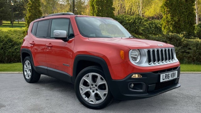 2016 Jeep Renegade 2.0TD Limited Auto (16 reg)