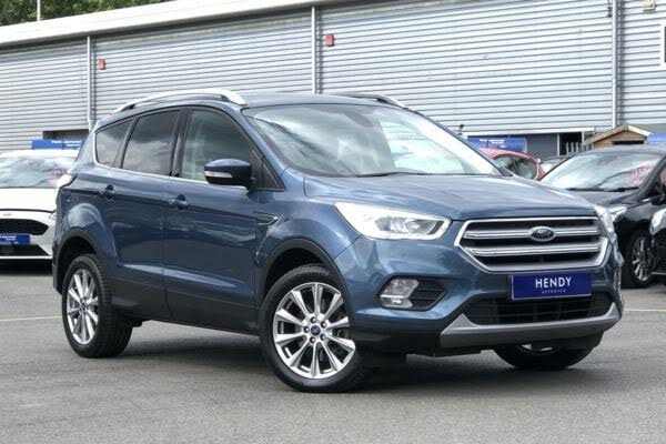 2019 Ford Kuga 2.0TDCi Titanium Edition (180ps) AWD (s/s) Powershift (0A reg)