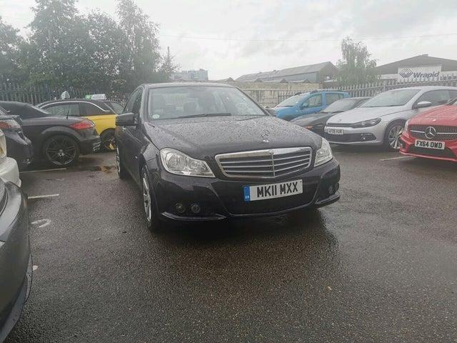 2011 Mercedes-Benz C-Class 2.1TD C220 CDI SE 2.1CDI Blue F Saloon 4d 2143cc (11 reg)