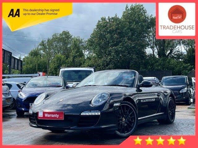 2010 Porsche 911 3.6 Carrera Cabriolet PDK (0Z reg)