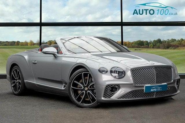 2019 Bentley Continental 6.0 GT (635ps) 4X4 Convertible 5950cc (BD reg)