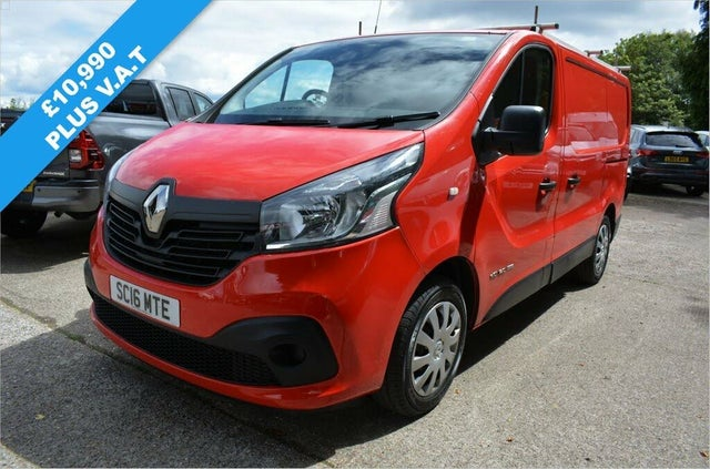 2016 Renault Trafic 1.6dCi SL27 120 Business+ Energy Low Roof (12 reg)