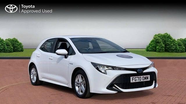 2020 Toyota Corolla 1.8 VVT-i Icon Tech (Spare Wheel) Hatchback 5d (70 reg)