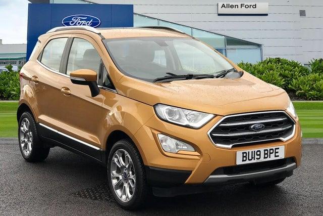 2019 Ford EcoSport 1.5 Titanium (125ps) AWD (s/s) (01 reg)